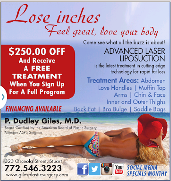 Giles Breast & Body Plastic Surgery is now offering Advanced Laser Liposuction Body Sculpting!