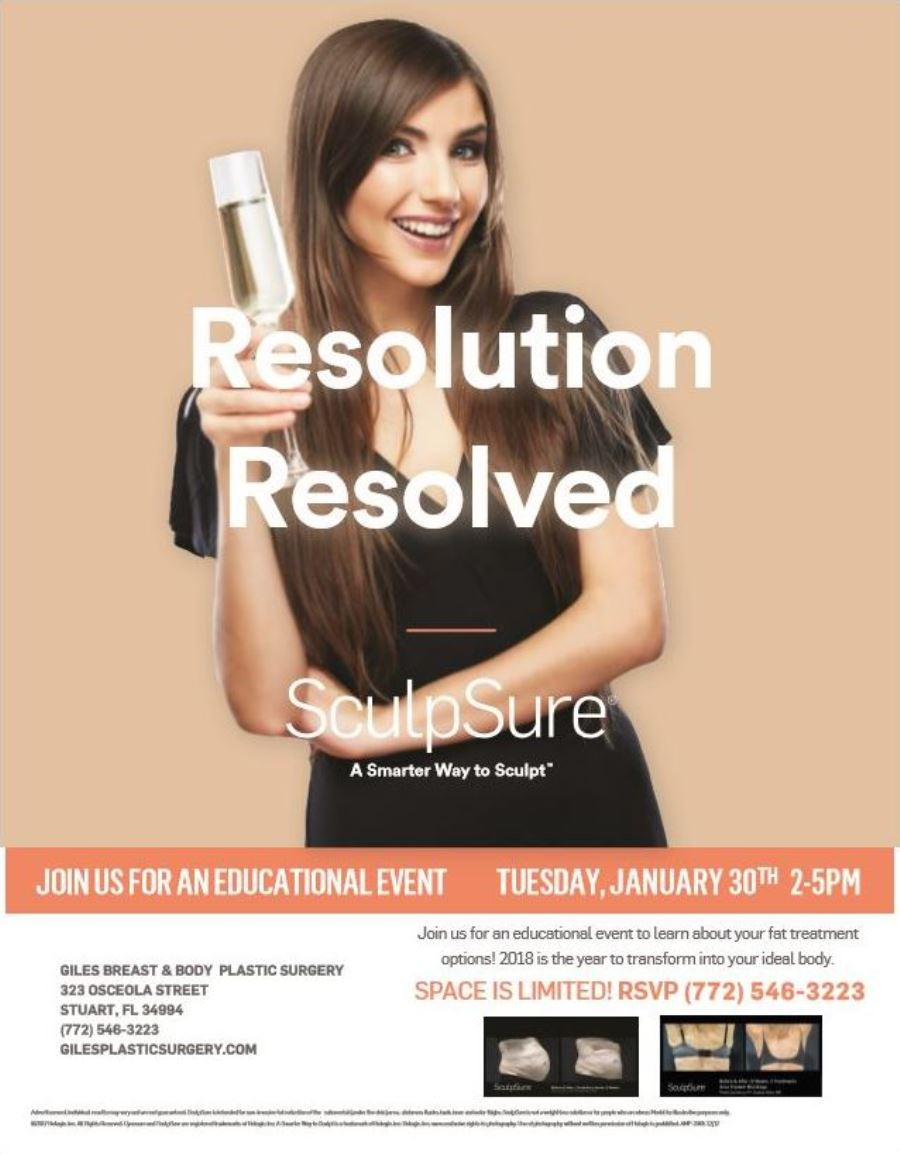 SculpSure Body Contouring Event - 1-30-2019