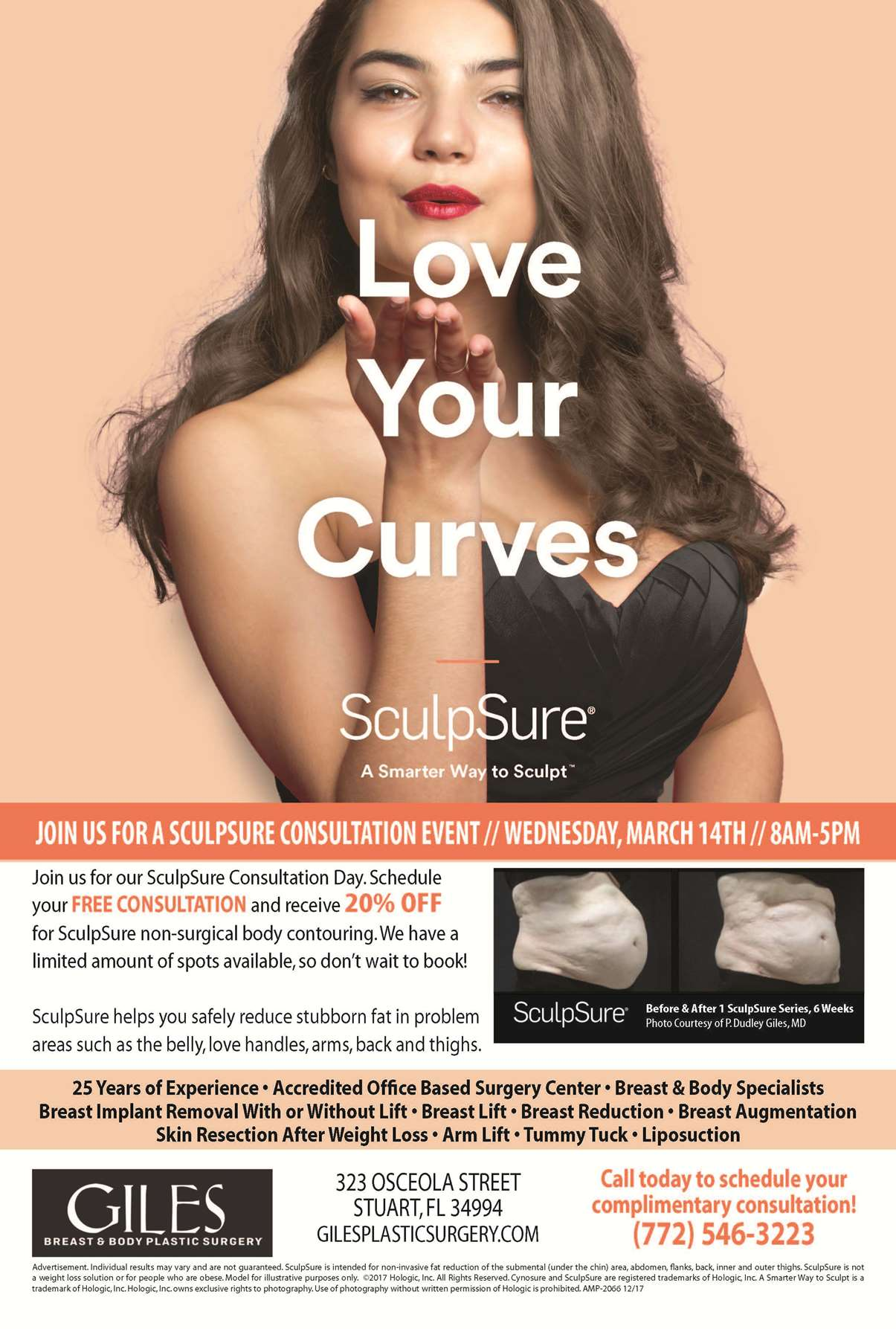 Sculpture Body Contouring Event - 3-14-2018