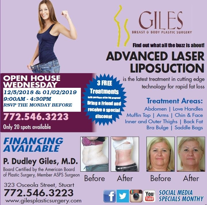 South Florida Advanced Laser Lipo Open House Winter 2018