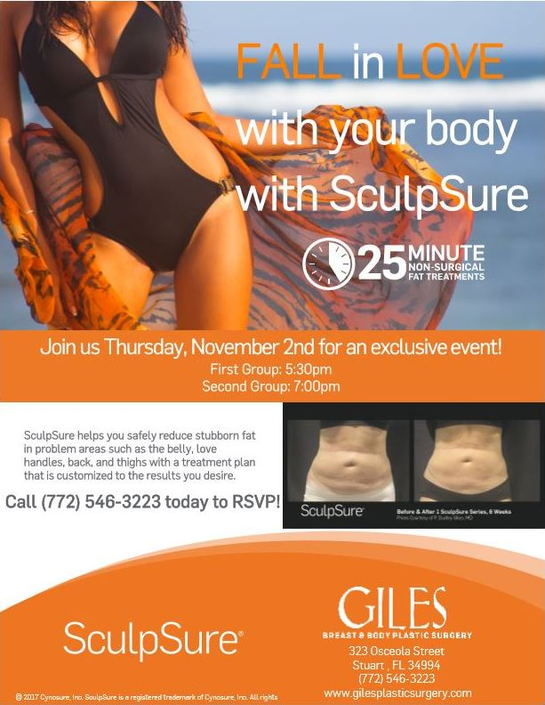 FALL in LOVE with your body with SculpSure event