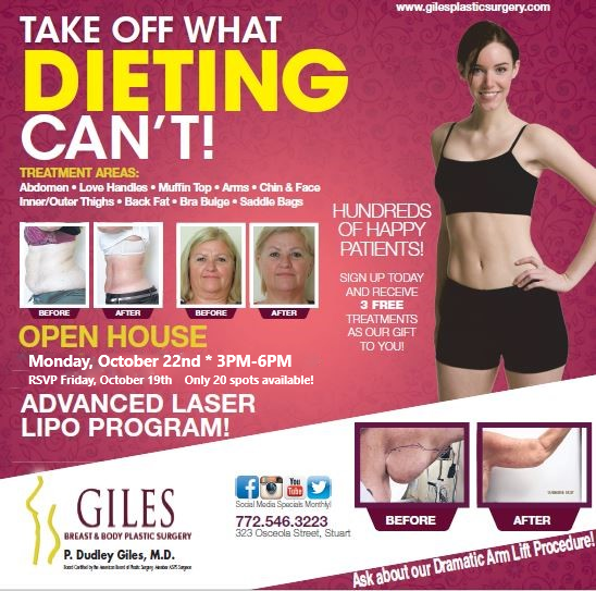 Advanced Laser Lipo Open House Ad
