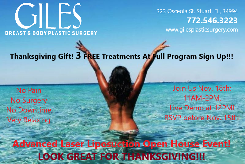 Treasure Coast Advanced Laser Liposuction Open House November 2019