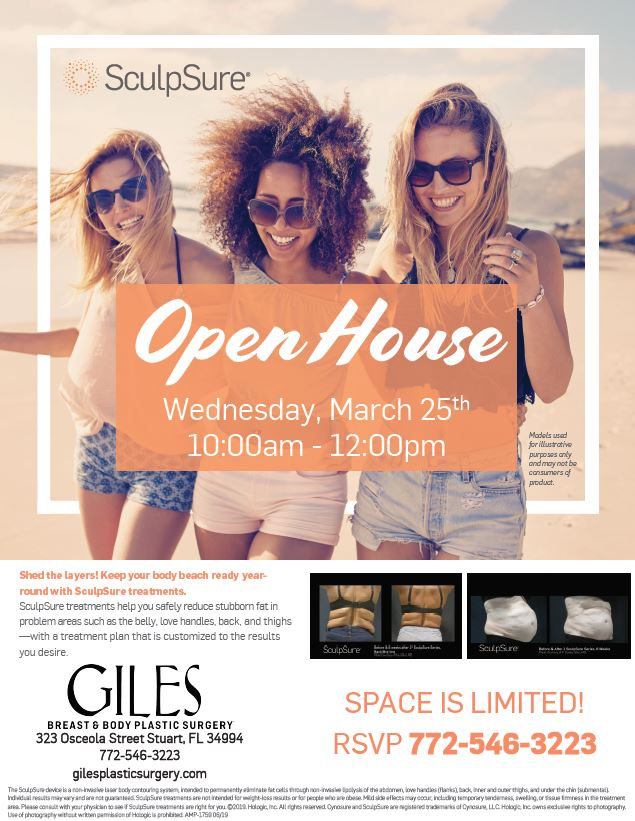 South Florida SculpSure Body Contouring Open House March 2020